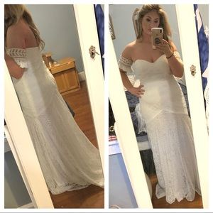 Mermaid Crochet Wedding Dress
